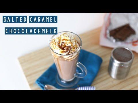 RECEPT: Salted caramel chocolademelk | LEKKER EN SIMPEL - YouTube