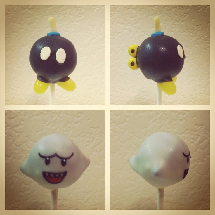 Vypassetti Cake Pops Super Mario Super Mario Cake Mario Bros