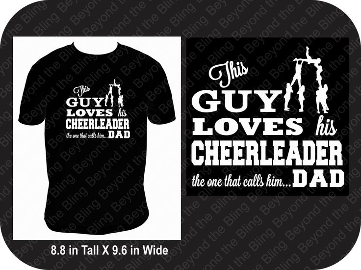Cheer dad shirt this dad loves his cheerleader shirt this guy loves his cheerleader shirt cheerleader dad shirt by BeyondtheBlingUSA on Etsy