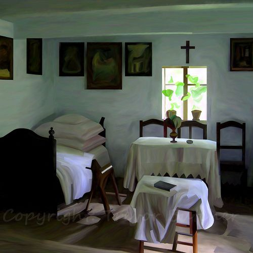 Lublin - Traditional Cottage Room. I always loved this room, but it took me a decade between taking the picture and producing this image. So many things I had to figure out on the way.