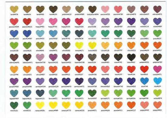 Papierdier - Lali - multi picture - coloured hearts