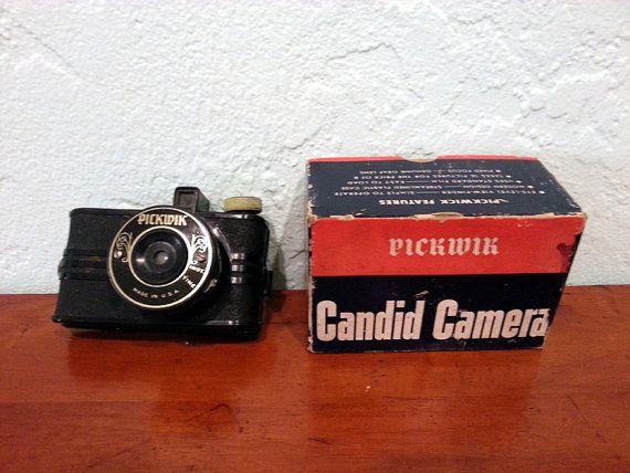 Pickwik Candid Camera by DaytonaVintage on Etsy