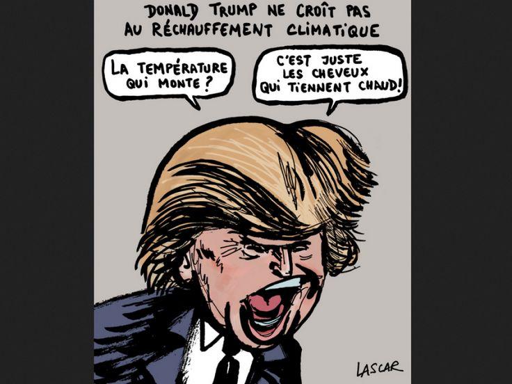Donald Trump nie les conséquences du réchauffement climatique.
