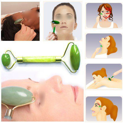 how to use face massager roller