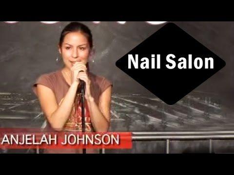 Stand Up Comedy by Anjelah Johnson - Nail Salon - YouTube