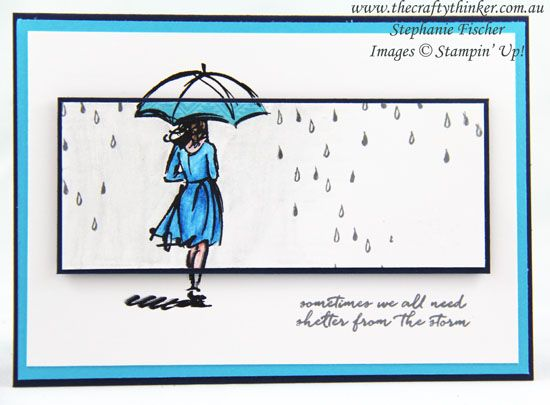 Into the rain by Tephie - Cards and Paper Crafts at Splitcoaststampers