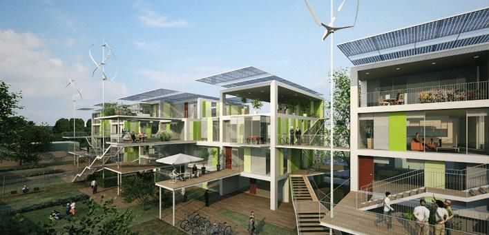 100K House, a house, eco-friendly low cost | Alternative Energy Solutions | News | Wind Energy | Solar Energy | Geothermal Energy