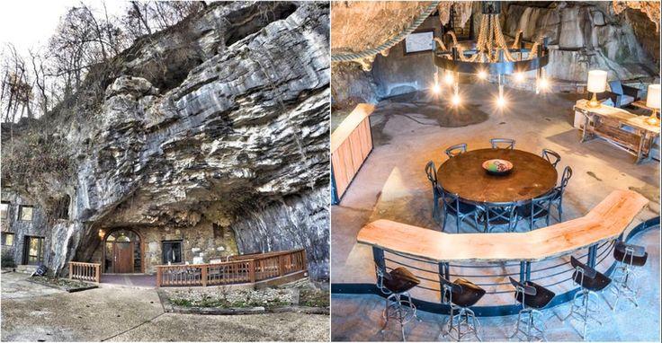 Aj jaskyne môžu byť nádhernými hotelmi.