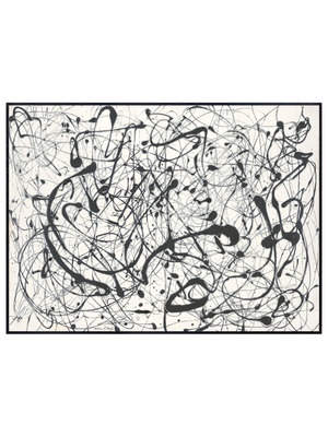 Number 14 Gray by Jackson Pollock by McGaw Graphics on Gilt Home