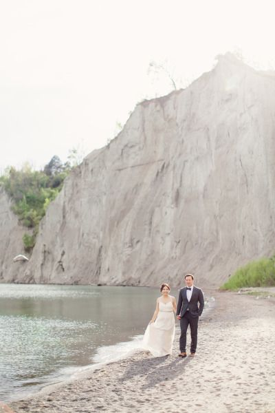 Romantic engagement session at the Scarborough Bluffs: http://www.stylemepretty.com/canada-weddings/ontario/toronto/2014/07/28/romantic-engagement-session-at-scarborough-bluffs/   Photography: http://www.artiesestudios.com/