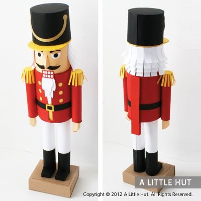 147 best nut crackers images on pinterest nutcrackers christmas nutcracker gift set i want this how cool is this paper nutcracker solutioingenieria Image collections