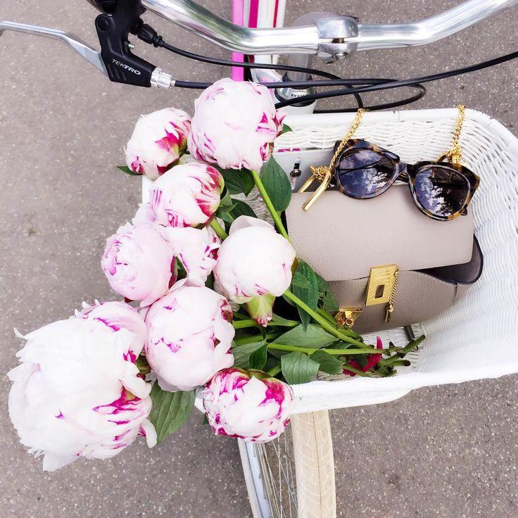 bike-details-pink-peonies-chloe-drew-bag-karenwalker-sunglasses