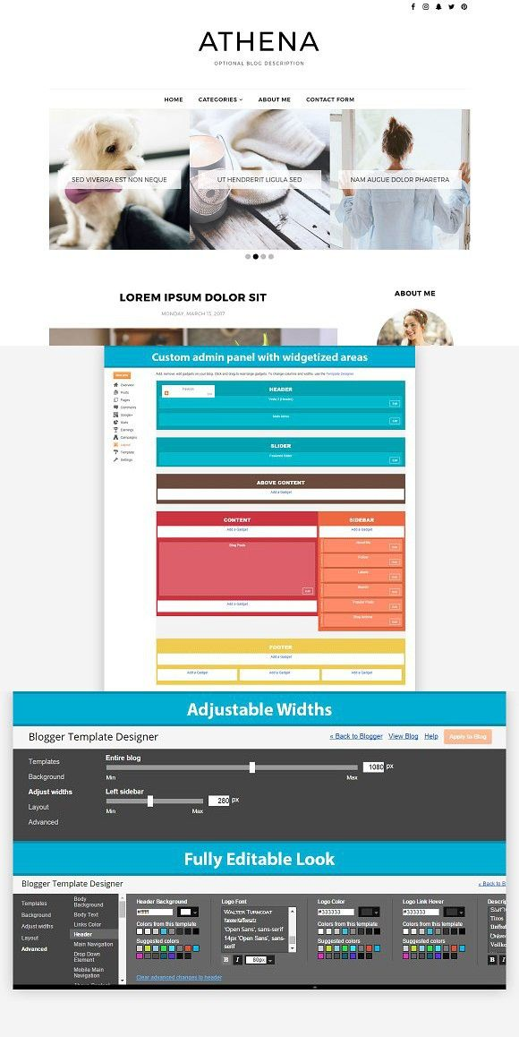399 best tumblr themes images on pinterest website layout and blogger template athena tumblr themes pronofoot35fo Choice Image