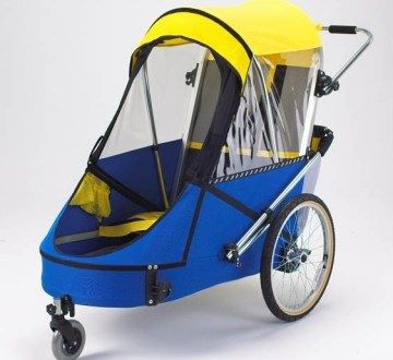 Large Special Needs Bike Trailer    #specialneeds #disabled #bikes