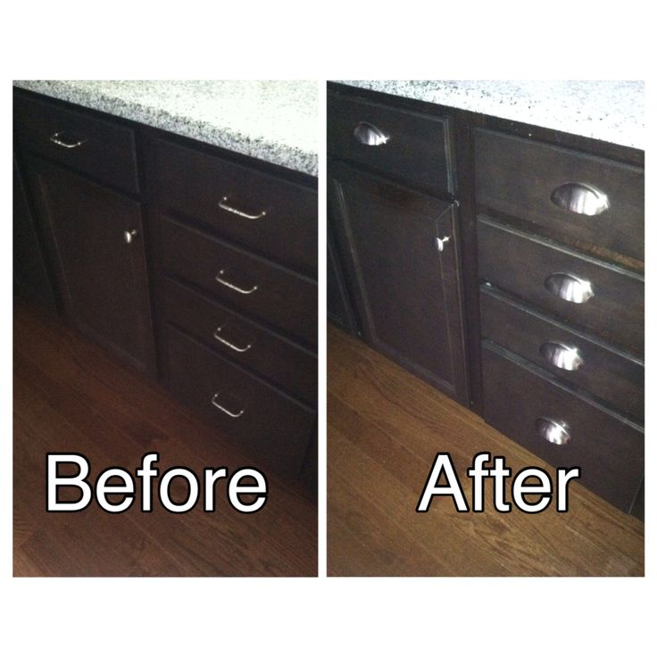 Quick And Easy Change But I M Loving My New Drawer Pulls