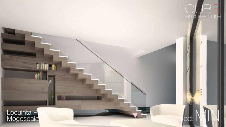 Proiecte case | Locuinta Parter si Etaj Mogosoaia, IF | cod MIN  http://www.cubarhitect.ro/proiect-locuinta-moderna-parter-si-etaj-concept-design-casa-parter-pe-teren-triunghiular-cod-min-mogosoaia-ilfov