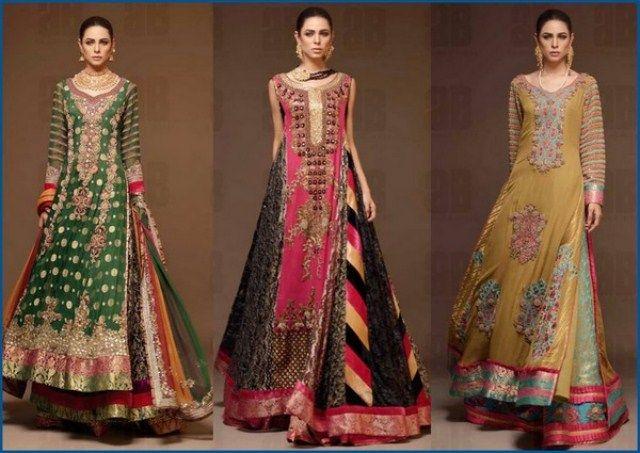 Ahmad Bilal Bridal Dresses Collection 2014