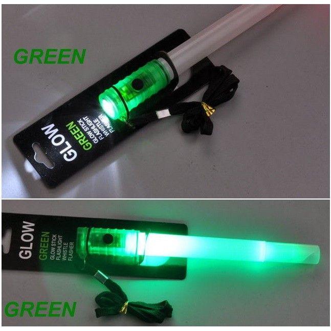 Eu.Int. Cyalume verde a batterie - 4 funzioni - Lampade tattiche e laser - Accessori