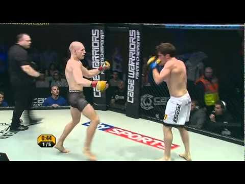 Cage Warriors 47: Conor McGregor v Dave Hill - Dublin, Ireland - YouTube