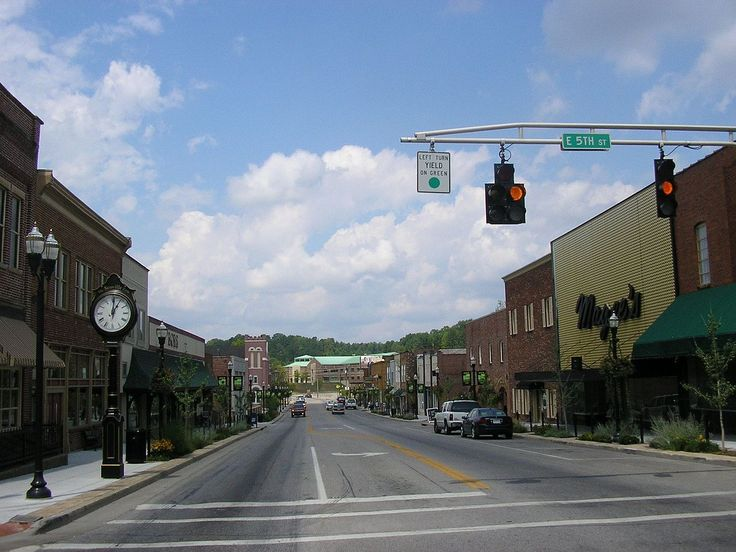 London Downtown Historic District in Laurel County, Kentucky.