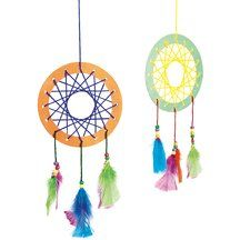 Native America Dream Catcher Craft Kit - Kit for 12 by Colorations[r]. $11.99. Sweet dreams! Our exclusive dream catcher kit provides students with a chance to explore Native American traditions while making a simple yet engaging take-home project.