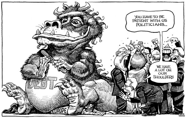 What the GFC has exposed...    KAL's cartoon | The Economist