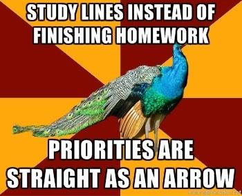We'll be finishing homework in homeroom instead.