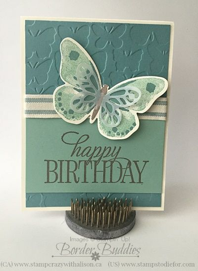 Stampin' Up! Watercolor Wings Stamp Set, I am sure it will be a #1 seller!