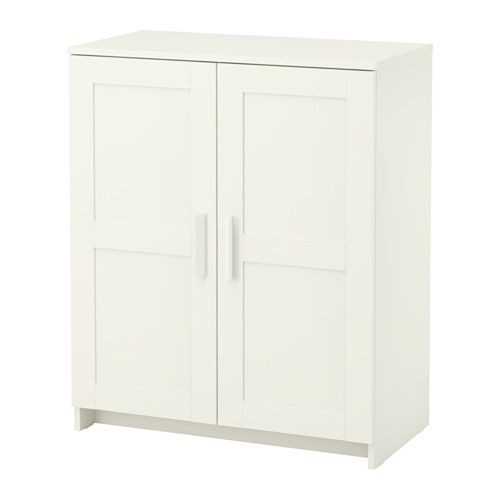 BRIMNES Cabinet With Doors White