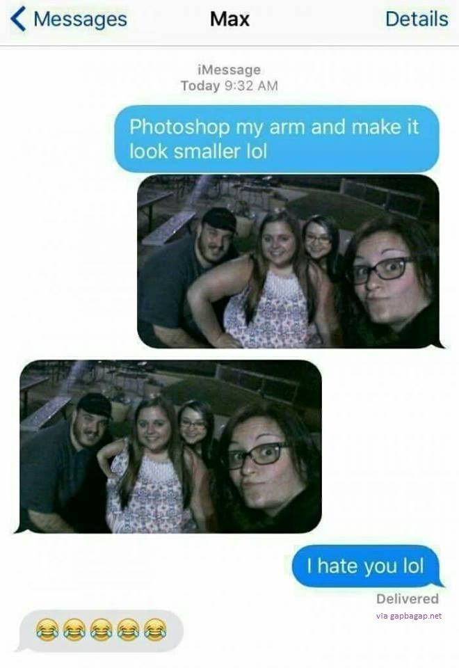 Funny Text About Photoshop LOL