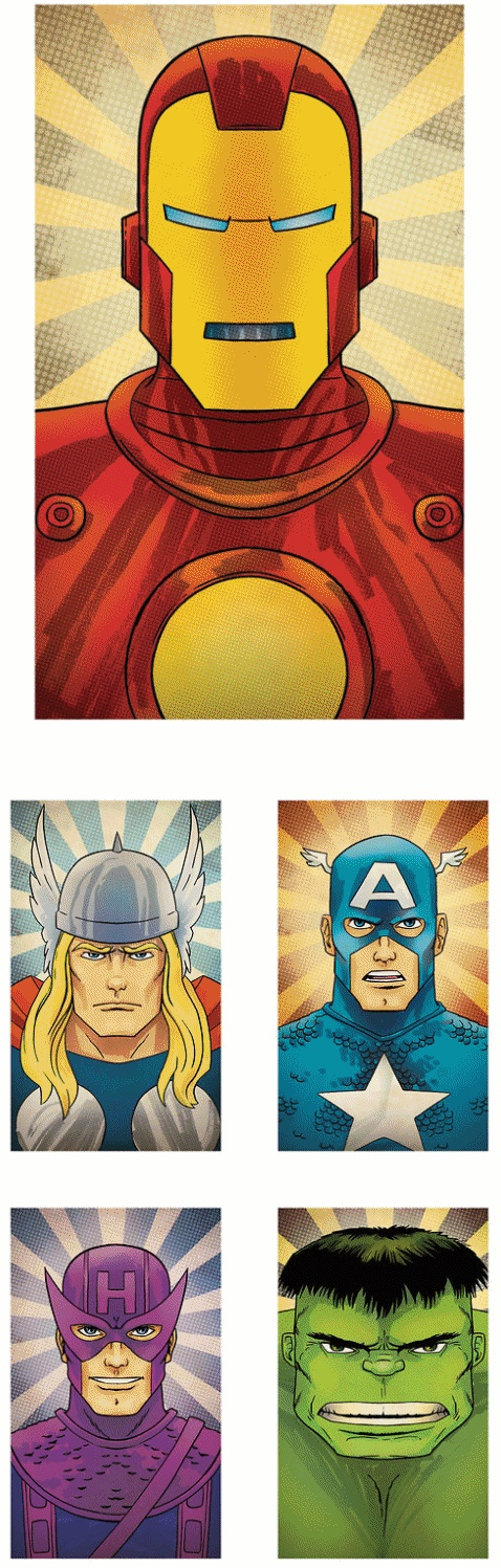 Avengers: The Big Five Collection by Rob Osborne
