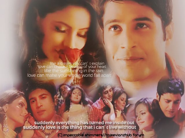 wallpaper on indian telly's most loved couple- Rajeev khandelwal & aamna sharif