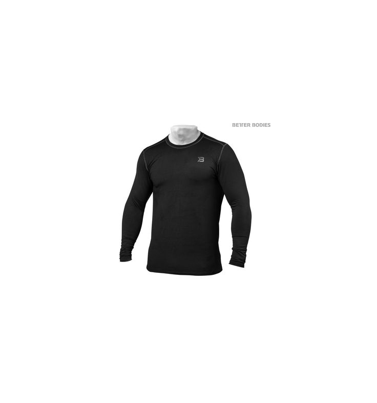 $26.00 OFF / BETTER BODIES MENS PERFORMANCE LONG SLEEVE - flexible fabric #discount #price #gymstore #Fitness #Apparel #sports