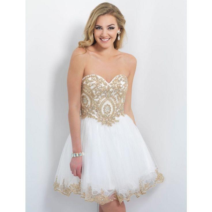 Мода короткие белые платья возвращения на бисером кристалл мини-коктейльные ну вечеринку платья вышивка милая спинки выпускного вечера