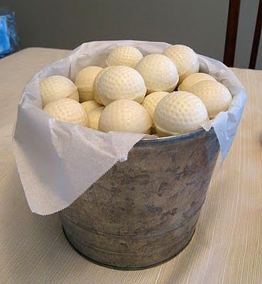 golf cake balls made with golf ball chocolate molds