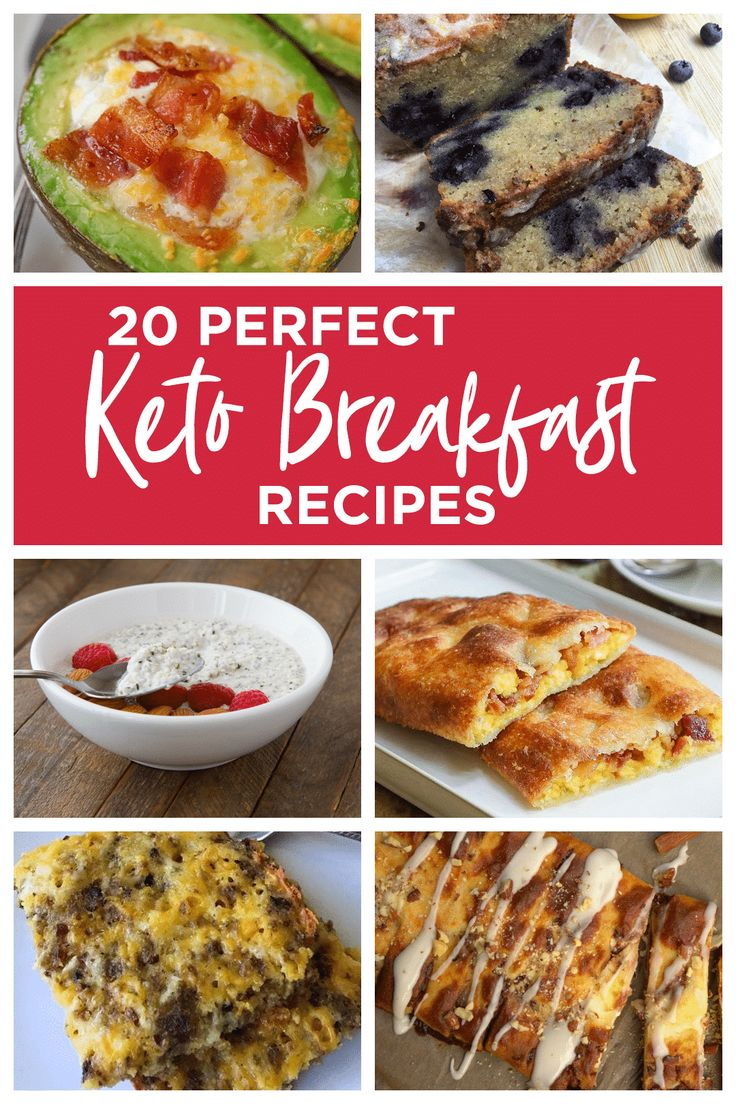 Keto Breakfast Recipes / 20 Perfect Keto & Low Carb Breakfast Ideas