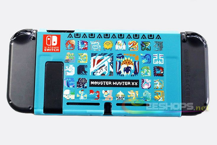 Cheap New for Nintendo Switch NS Game Console Protective Case Cover Shell Armor Shell Monster Hunter XX Replacement Spare Parts Free Shipping
