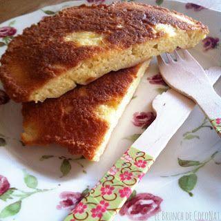 El Brunch de CocoNat: Paleo pan de almendras o tortita de almendras