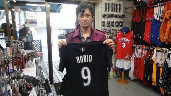 【新宿2号店】 2014年4月12日 あのパスセンスには脱帽ですよね。ルビオ選手を見習い私も勉強します!