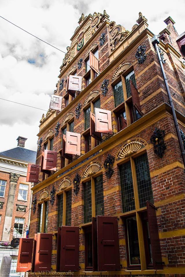 Goudkantoor. Grote Markt, Groningen. The Netherlands