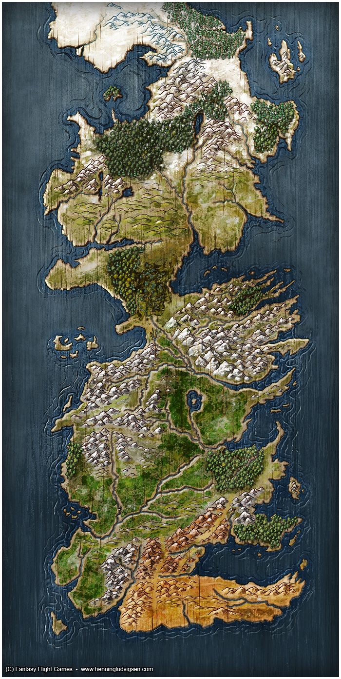 48 best board game art images on pinterest fantasy map board a game of thrones the board game second edition by henningiantart gumiabroncs Images