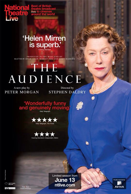 CINEMA SCAPE: The Audience by Stephen Daldry Starring Helen Mirren. In Theaters June 13, 2013