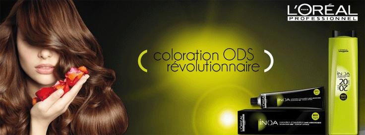inoa : La coloration ODS révolutionnaire par L'Oréal Professionnel    http://www.hairstore.fr/inoa-loreal-professionnel.htm
