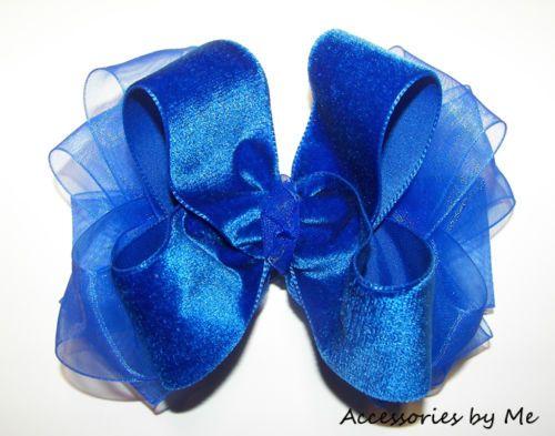 fancy-royal-hair-bow-blue-velvet-organza-girl-toddler