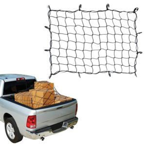 Safeguard your cargo and other valuable with The Bungee Cargo Net that provide tight covering on over sized or stacked loading.