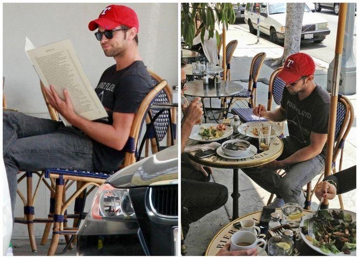 ハリウッドでランチのチェイス・クロフォード|セリーナに恋して ~Gossip Girl~