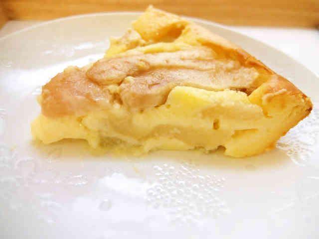 秋冬の楽しみ♡簡単☆洋梨のチーズケーキの画像