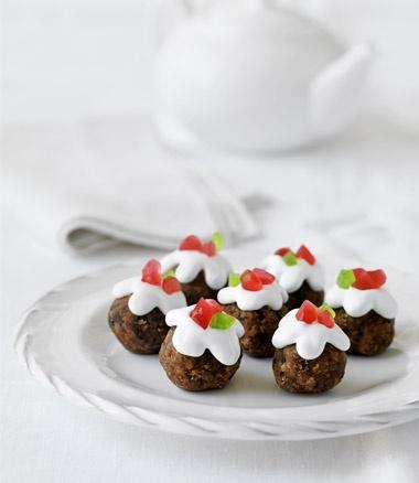 Mini Christmas Puddings   Xmas   Christmas Food   MiNDFOOD
