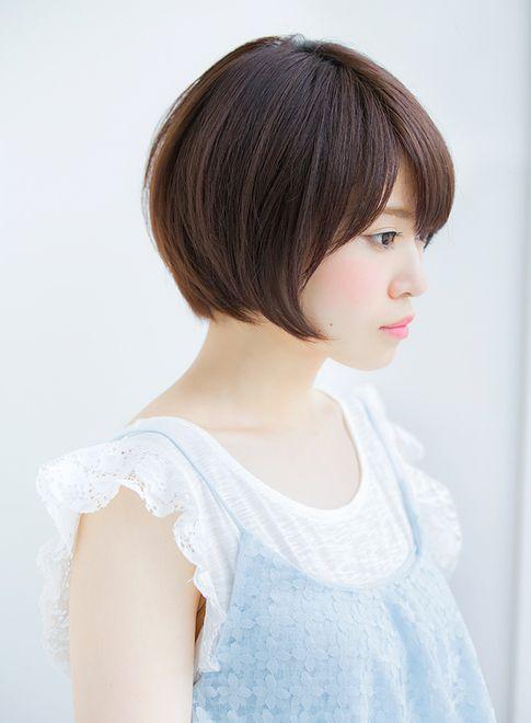 大人可愛いひし形ショート2015秋冬(髪型ショートヘア)