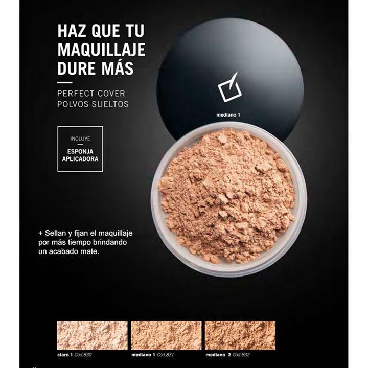 HOY  $42.200  Antes:  $65.000  (-35%)  en Polvos Sueltos #Yanbal PERFECT COVER. Envío Nacional #Colombia. http://www.descuentometro.com/producto/polvos-sueltos-yanbal-perfect-cover/